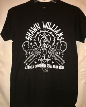 Image of Alt-rocka countrybilly serial killer blues T-shirt