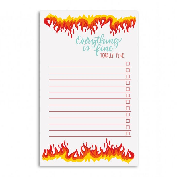 Image of Everything is Fine Notepad