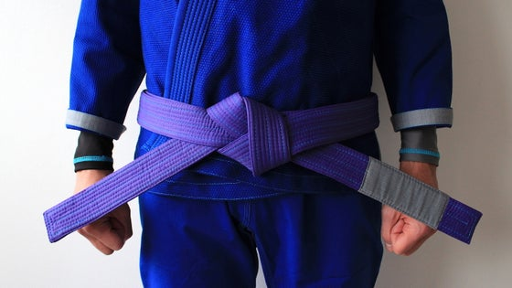 Image of CYGNUS 白鳥 PURPLE BELT