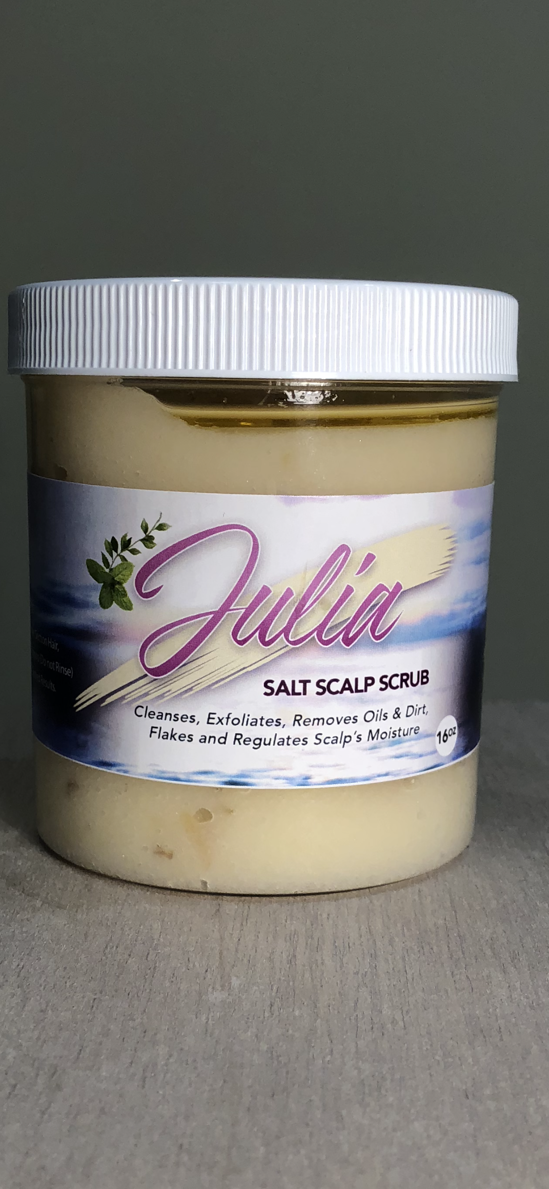 Image of Julia Salt Scalp Scrub The Mother Nature Collection