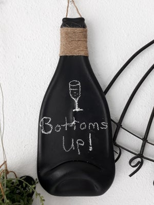 Slumped Bottle Chalkboard