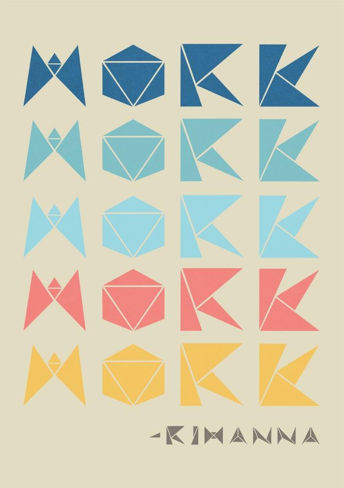 "Image of A2 ""WORK WORK WORK WORK WORK"" Giclee Print"