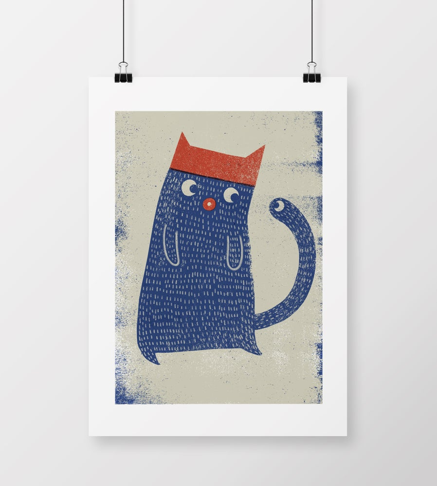 """Image of A2 """"KATTEN"""" Giclee Print"""