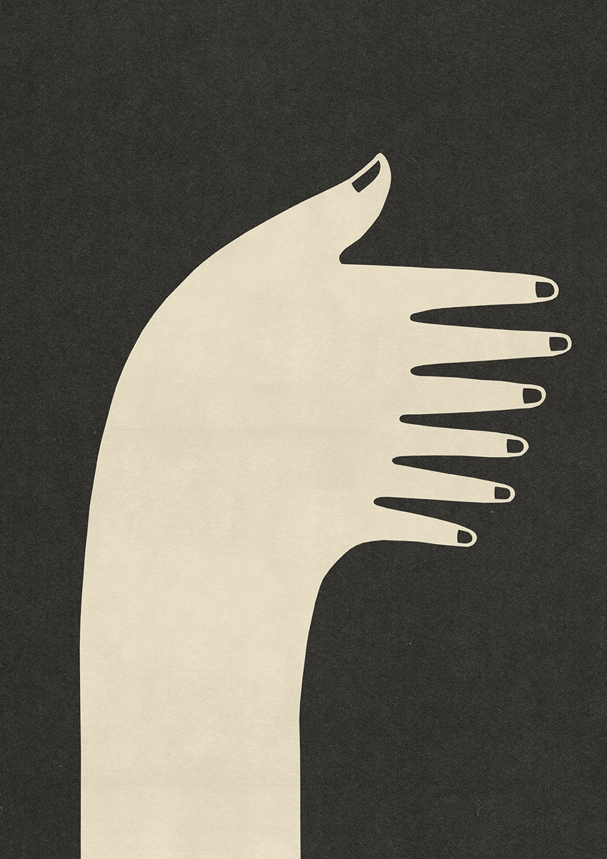 """Image of A2 """"PIANO HAND"""" Giclee Print"""