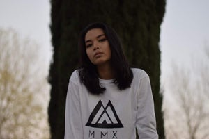 Image of White Long Sleeve MMX Tee