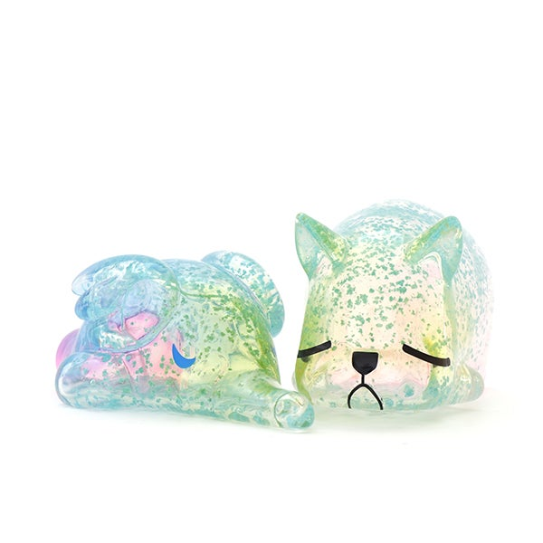 Image of SLEEPING ELFIE & NIMBUS GLOW FLAKE EDITION