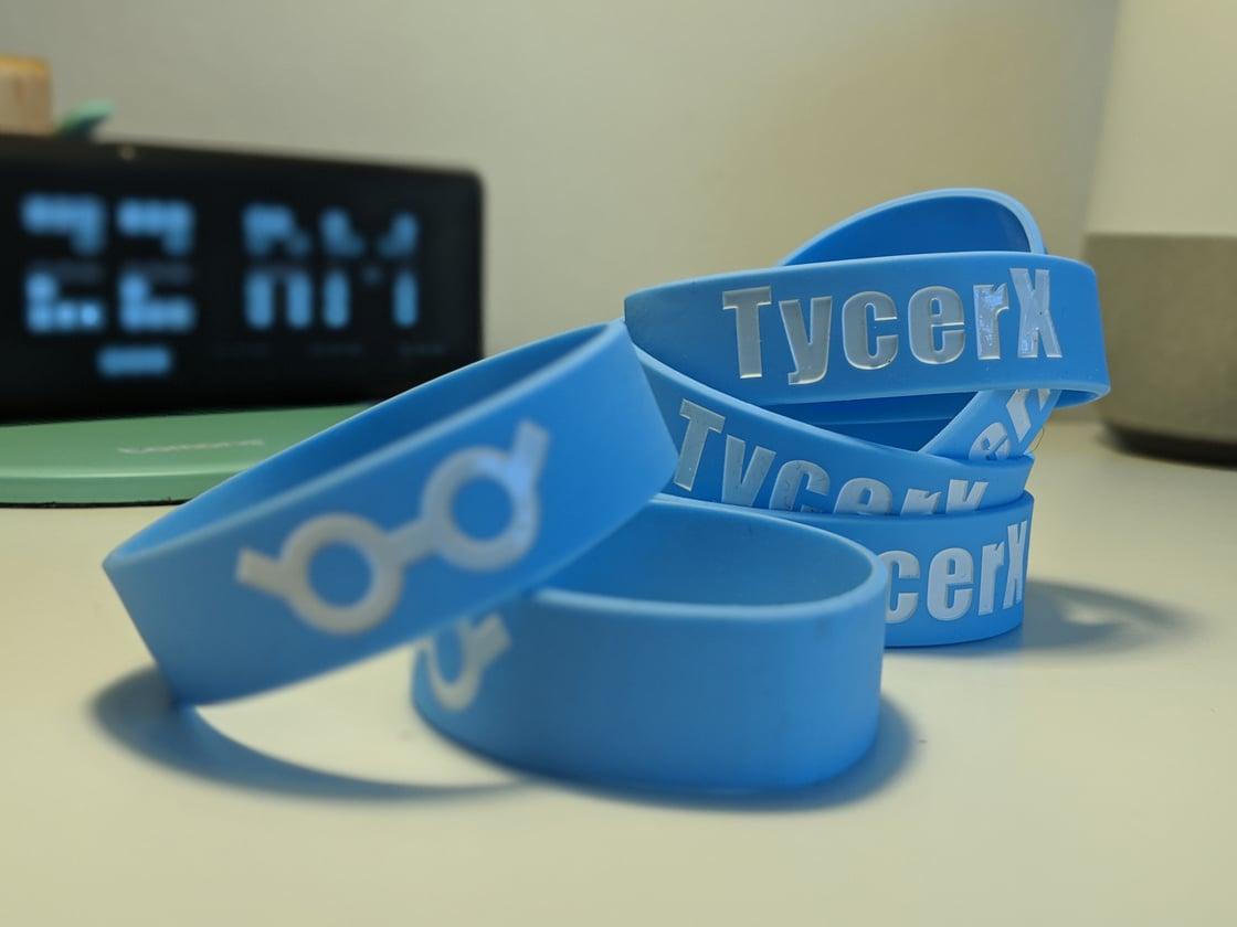 Image of TycerX Silicone Wristband