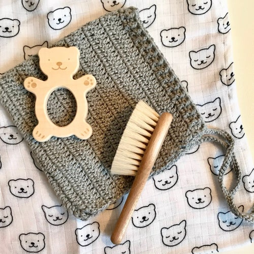Image of Brosse à cheveux Ours