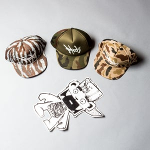 Image of F-Rock Hand Tag Trucker Hats