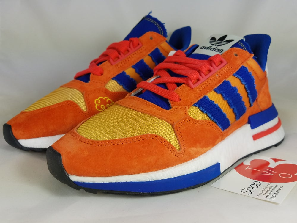 Image of Adidas ZX 500 Dragon Ball Z Son Goku
