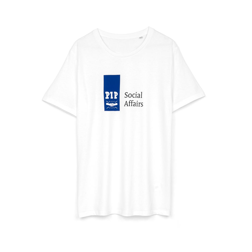 Image of PIP 'SOCIAL AFFAIRS' T-SHIRT | WHITE