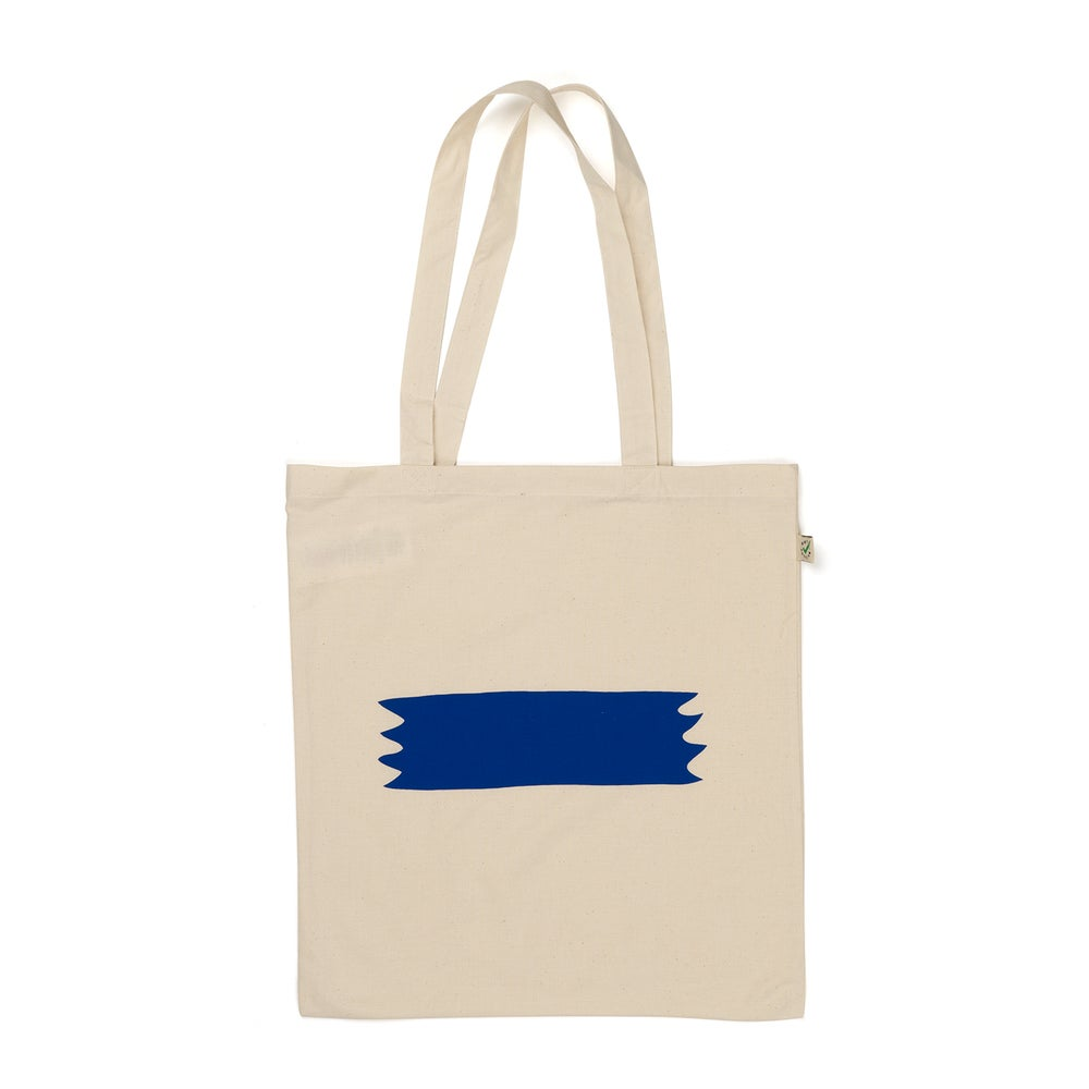 Image of PIP 'BANNER' TOTEBAG | OFF-WHITE