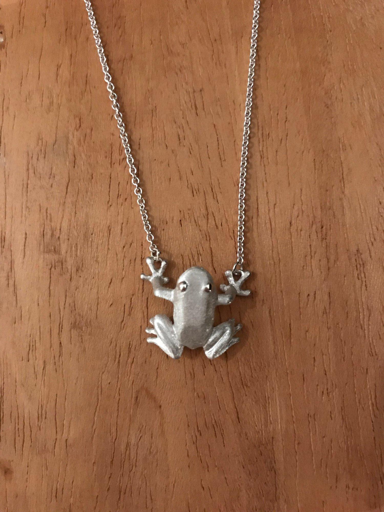 Image of Frog Pendant