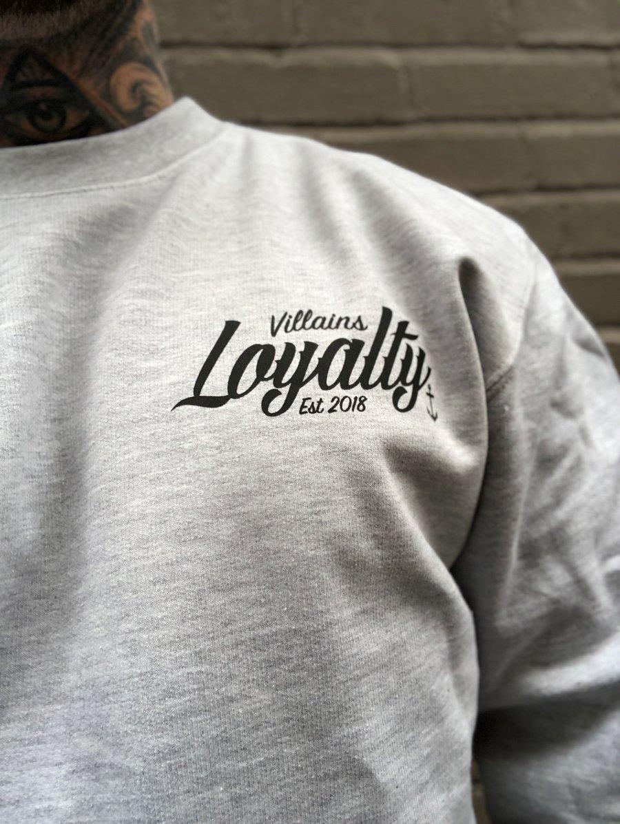 Image of Villains Loyalty crewneck sweatshirt
