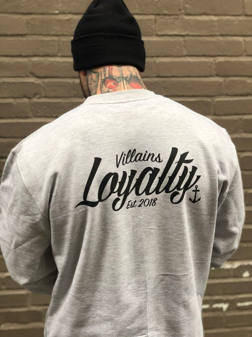 Image of Villains Loyalty crewneck sweatshirt