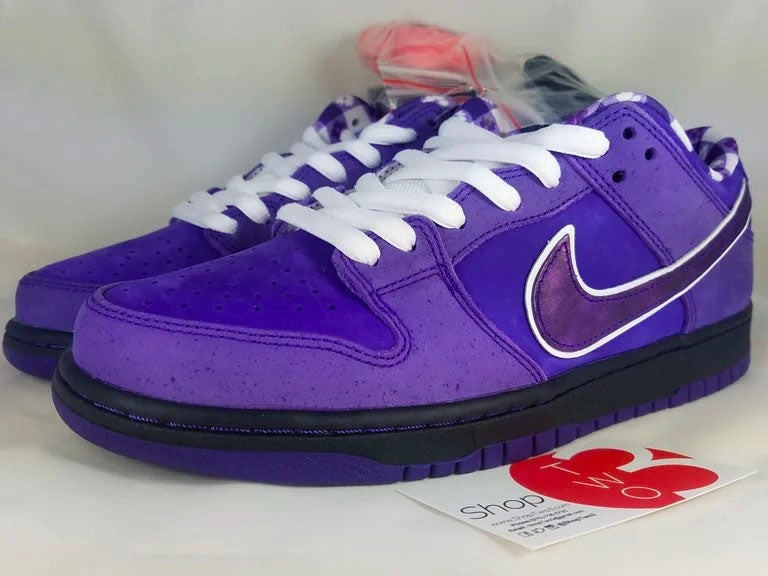 "Image of Nike SB Dunk Low Concepts Purple Lobster ""Special Packaging"""