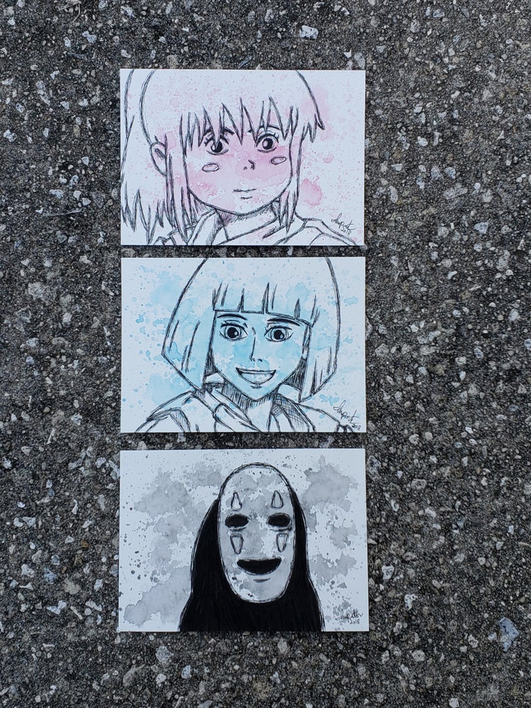 Image of Spirited Away Character set
