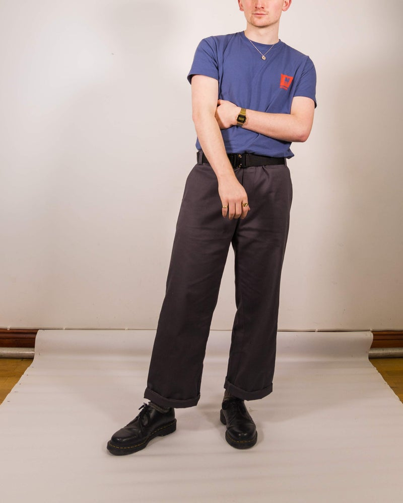 Image of Nostalgia Straight Leg Trousers