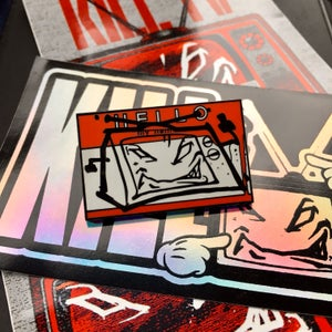 Image of Kill TV exclusive enamel pin