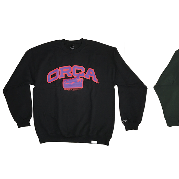 Image of ORCA College Logo Crewneck Sweater