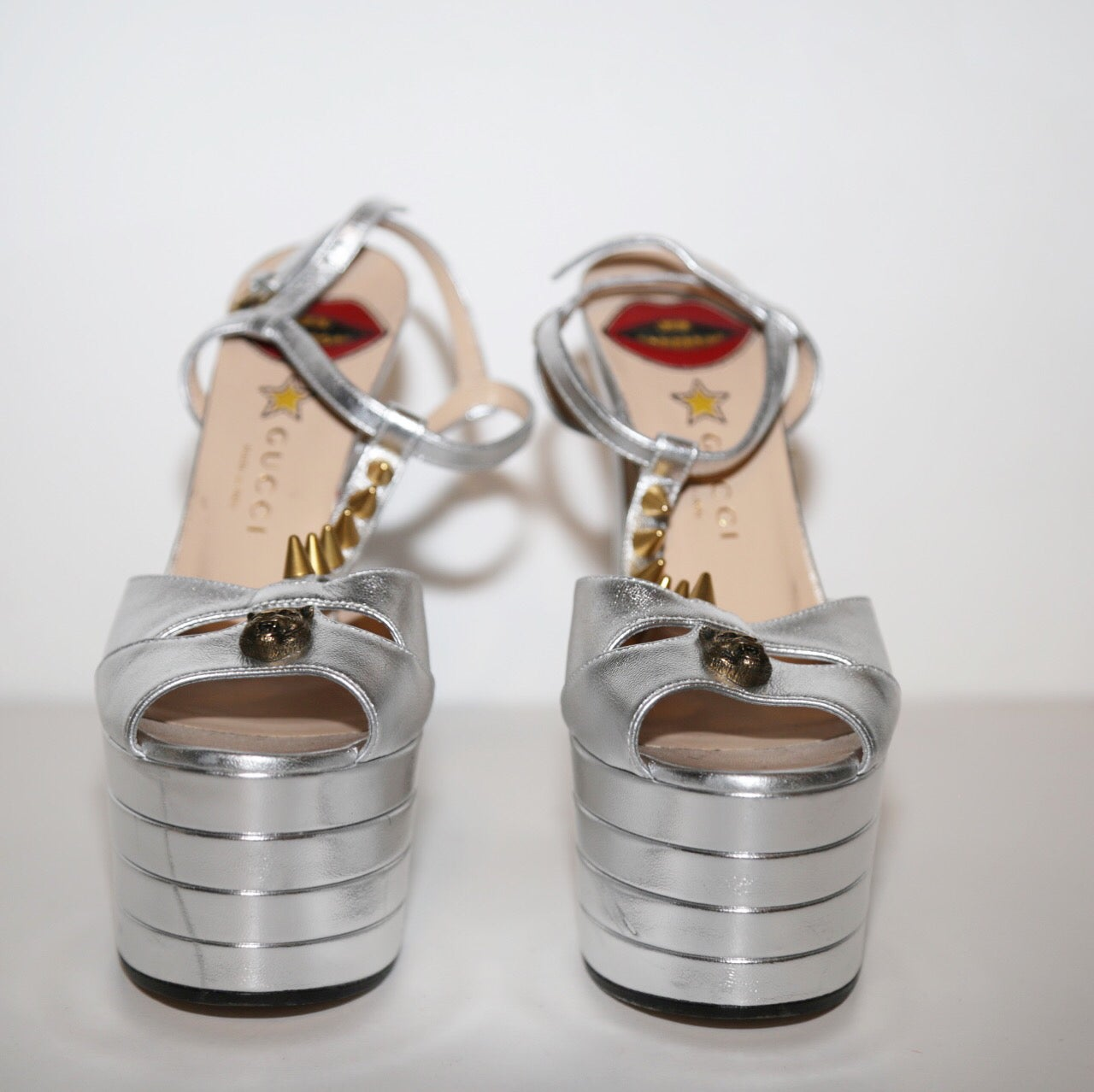 Image of GUCCI PLATFORM SANDALS