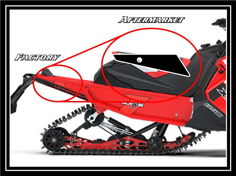 Image of 2019 INDY POLARIS BLACK REFLECTORS