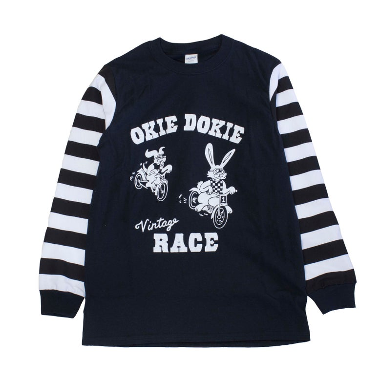 Image of OKIE DOKIE RACE Long Sleeve T-Shirts