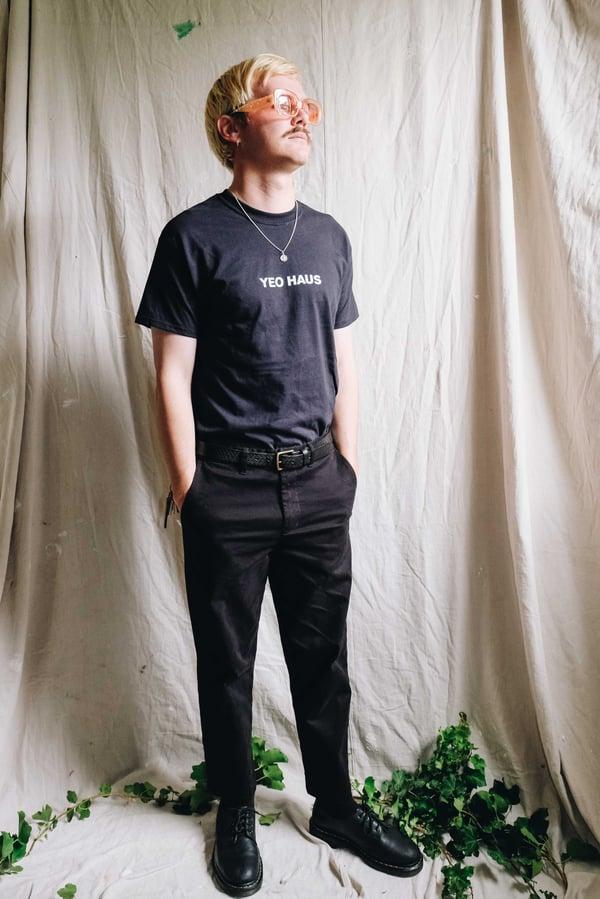 The Haus of Yeo logo t-shirt - Black  - Yeo Haus