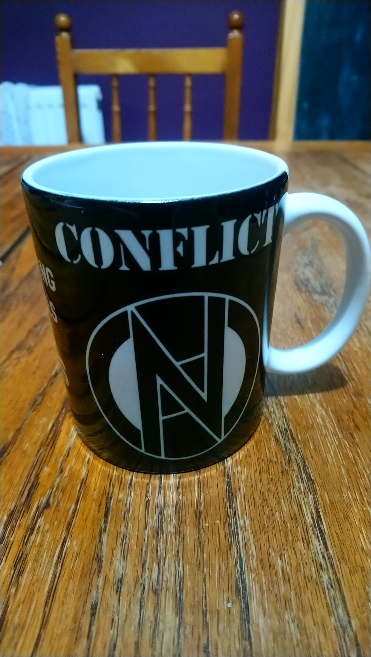Image of CONFLICT To a Nation of Animal Lovers Mug