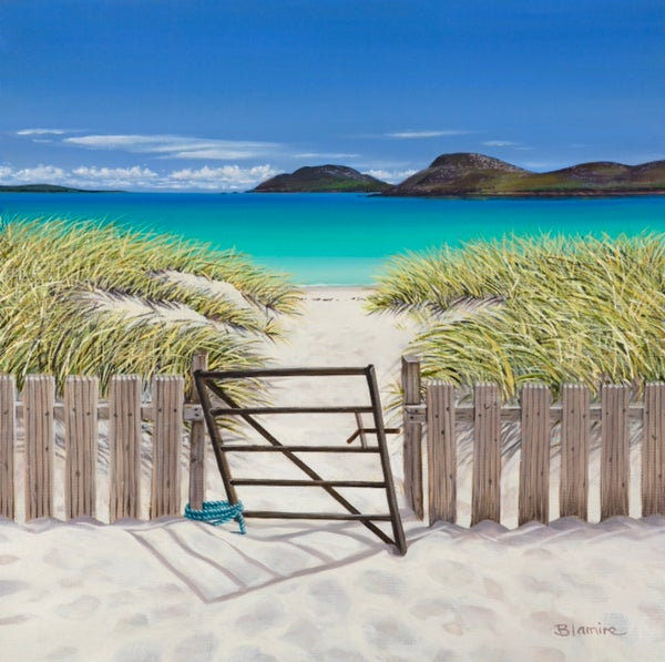 Image of Vatersay gate ALL SIZES giclee print