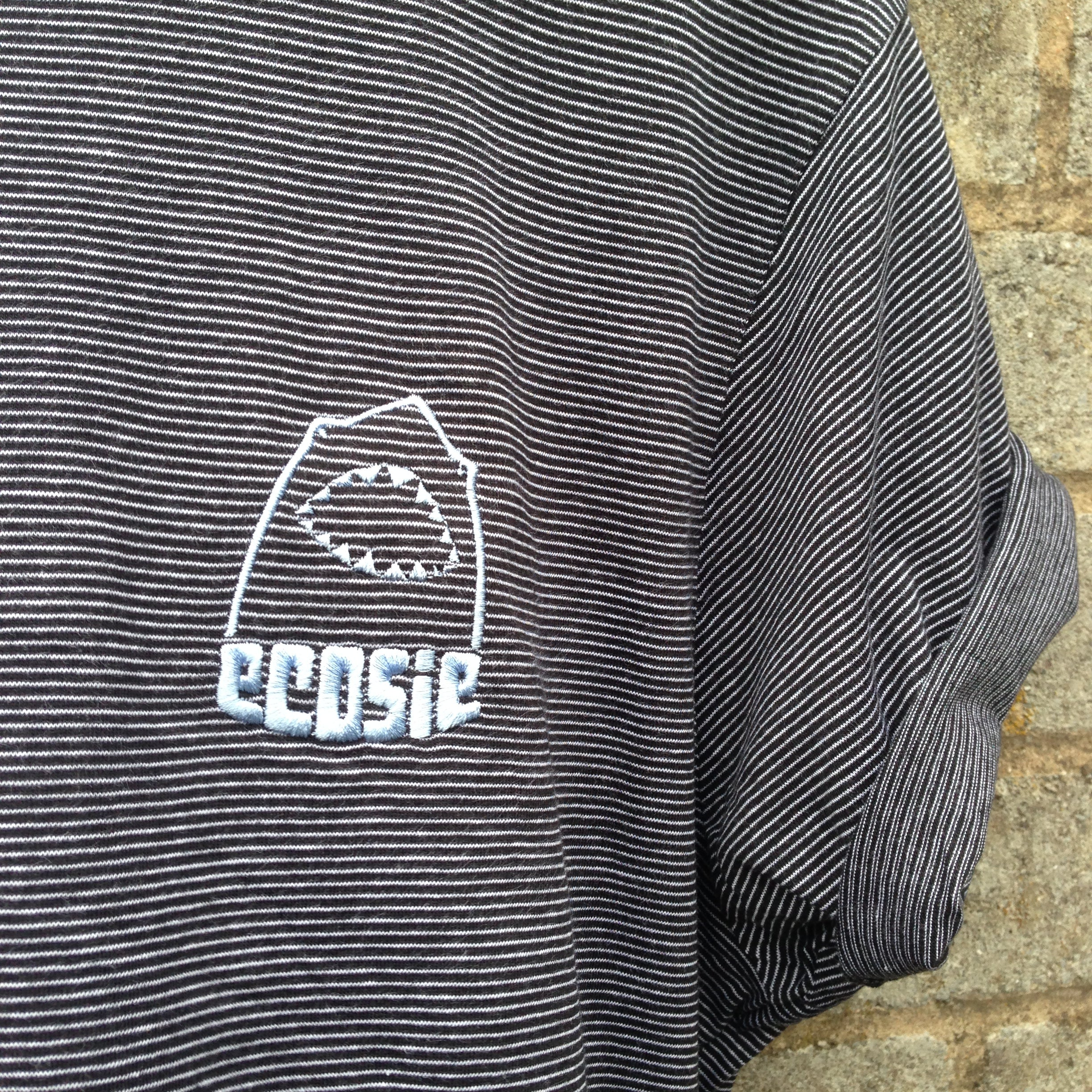 7002e9f3717 Line Up Ecosie McSharky Embroidered Organic Cotton T-Shirt