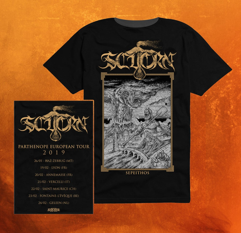 Image of SEPEITHOS EUROPEAN TOUR 2019 T-SHIRT