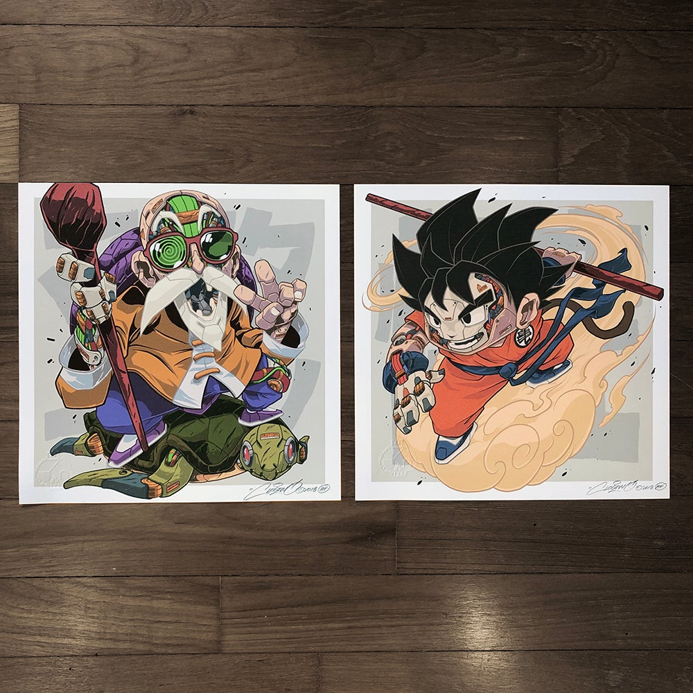 Image of MECHASOUL DRAGONBALL (GOKU + ROSHI)