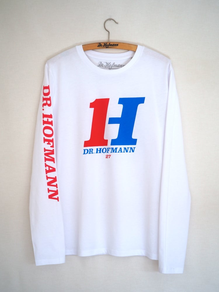 "Image of ""H1 Long Sleeve TEE"" - Organic cotton - White"