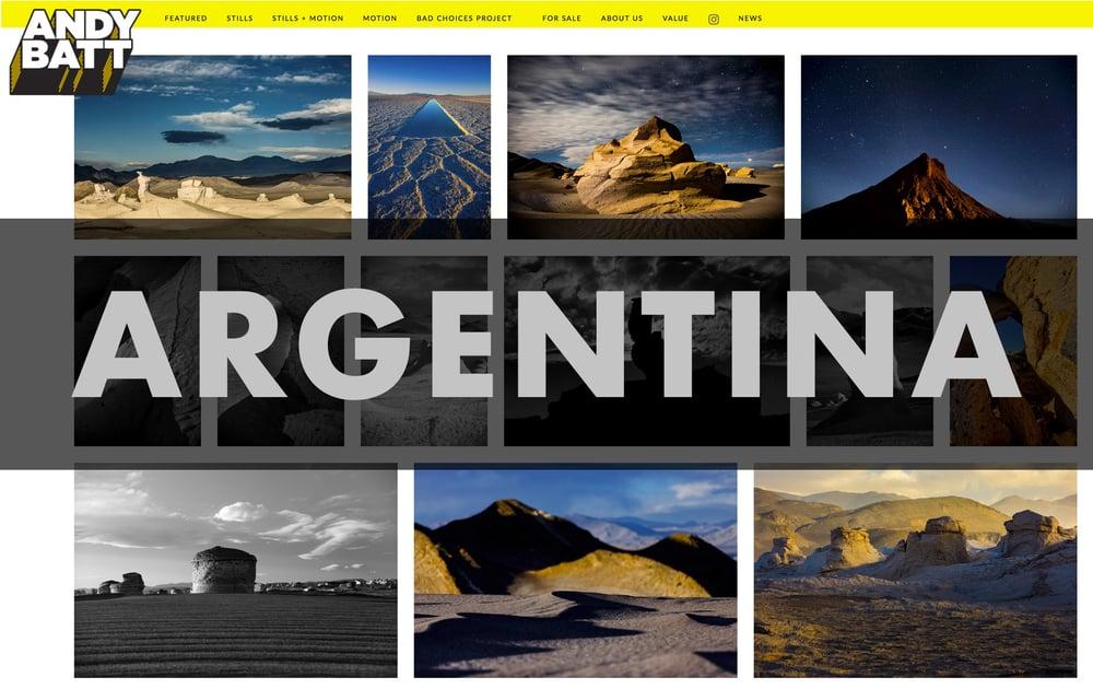 "Image of 30"" x 40"" Argentinean Desert Landscapes—Archival Inkjet Print"