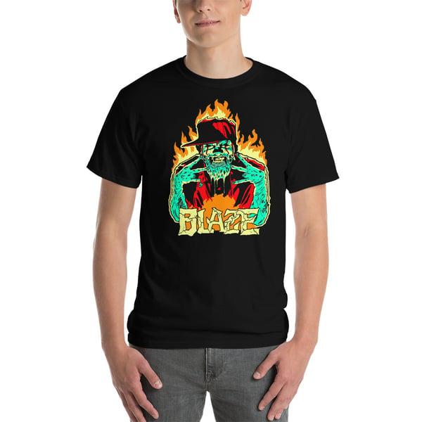 Image of Blaze Fiery Dead Man Shirt