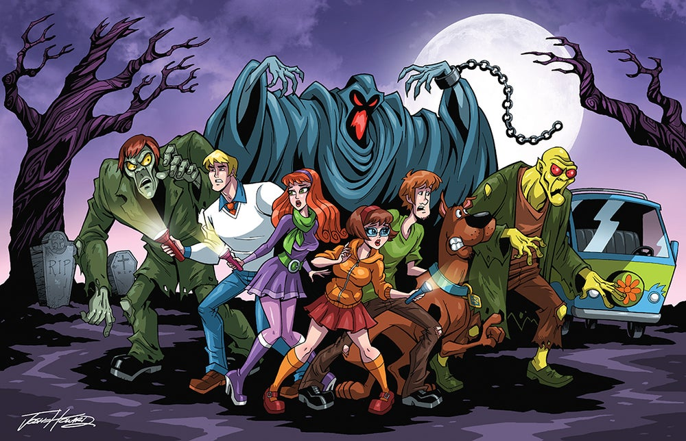 Image of SCOOBY DOO Print
