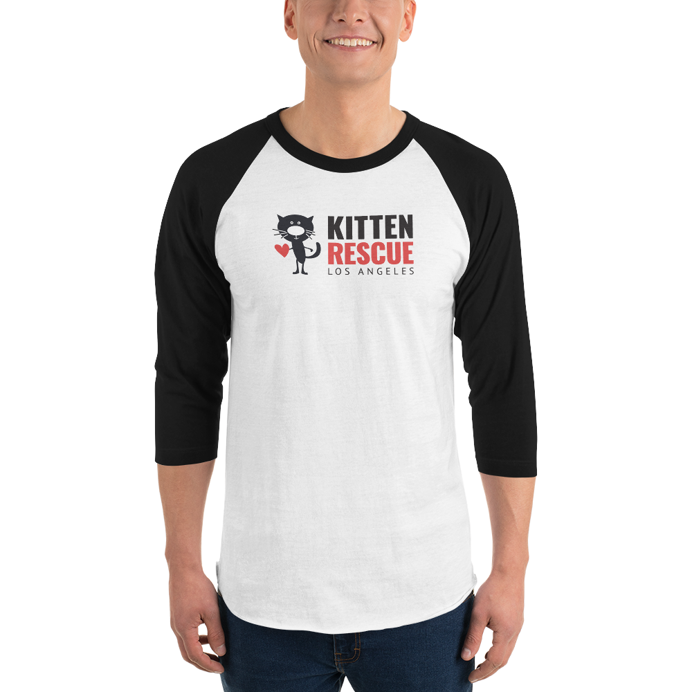 Image of Sporty Jersey Raglan Tee for all Cat Lovers