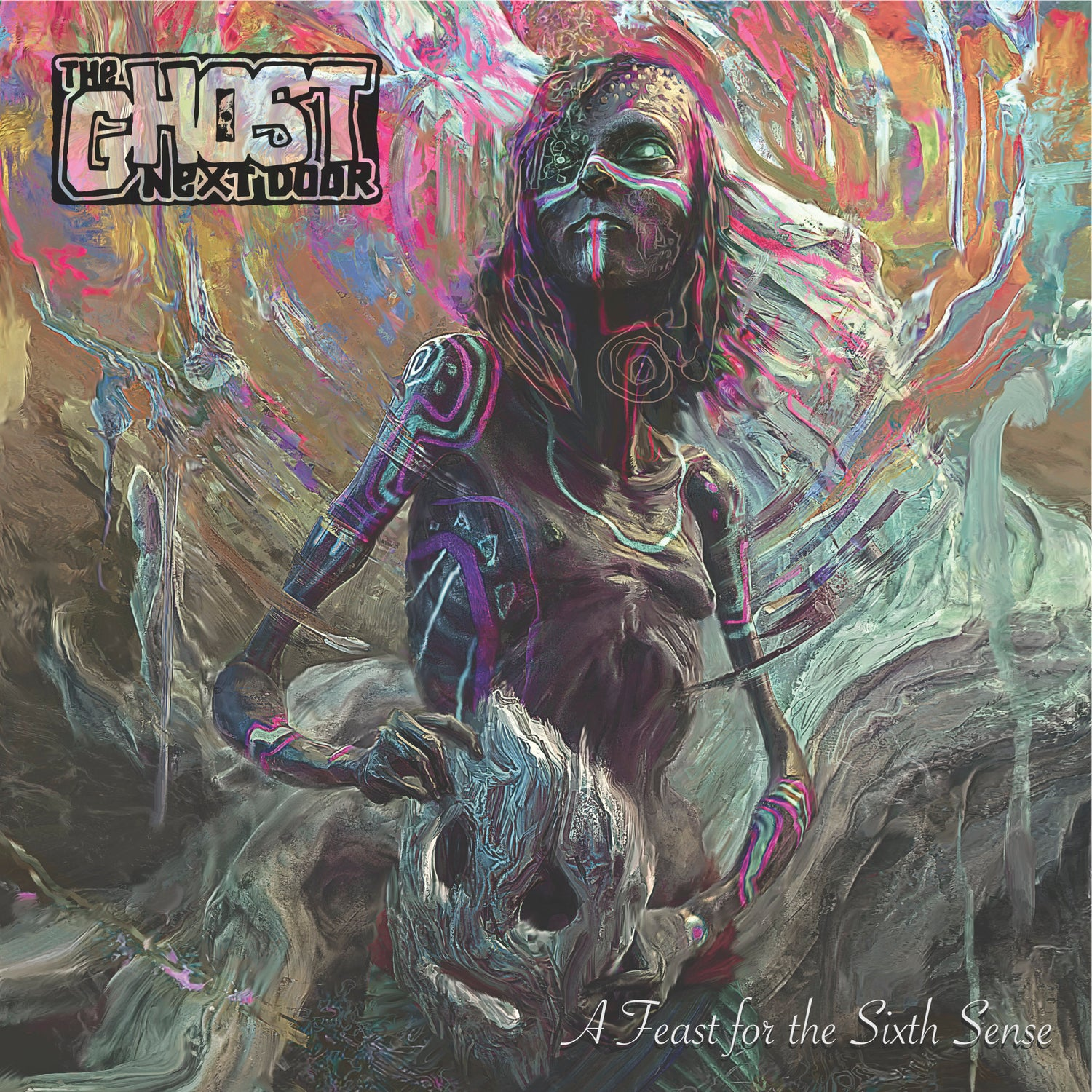 "Image of The Ghost Next Door - A Feast For The Sixth ""Senseless Black"" Vinyl LP"