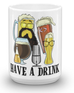 Image of HAD White Glossy Mug - 15 oz
