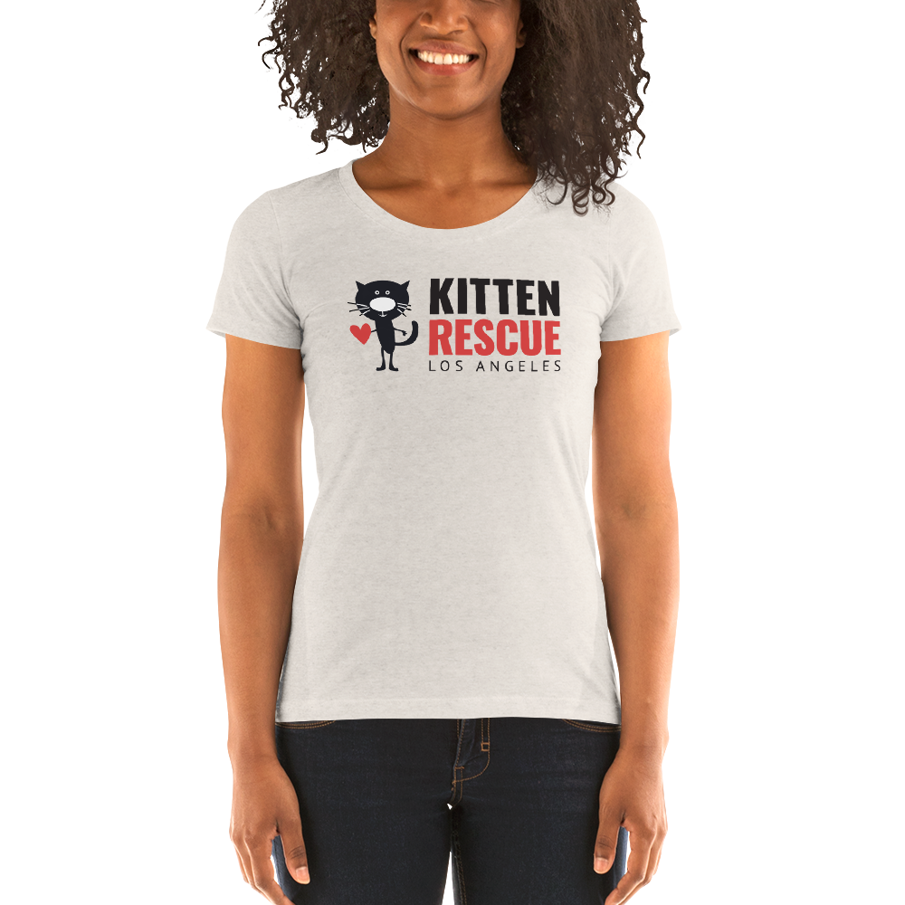 Image of Cat Lady Chic Kitten Rescue's Women's T-shirts!