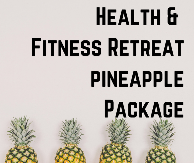 Image of Health & Fitness Day PINEAPPLE PACKAGE 1.13.18