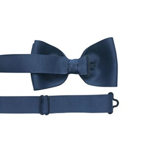 Image of MILLEDEUX GROSGRAIN BOYS BOW TIE – NAVY