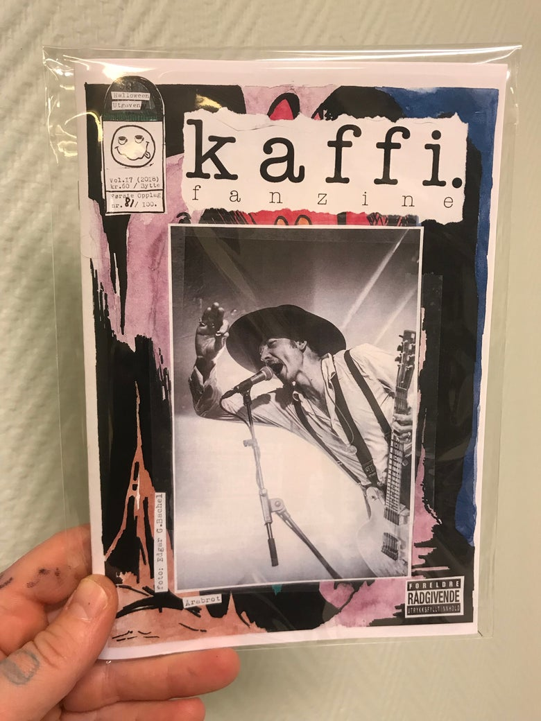 Image of kaffi fanzine Vol.17 (2018) Standard Edition