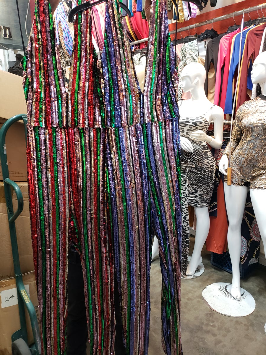 Image of Show Stopper Sequins Jumpsuit