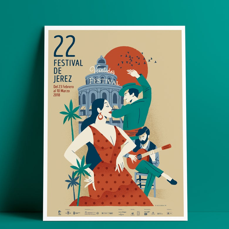 Image of 22 Festival de Jerez / Cartel Oficial