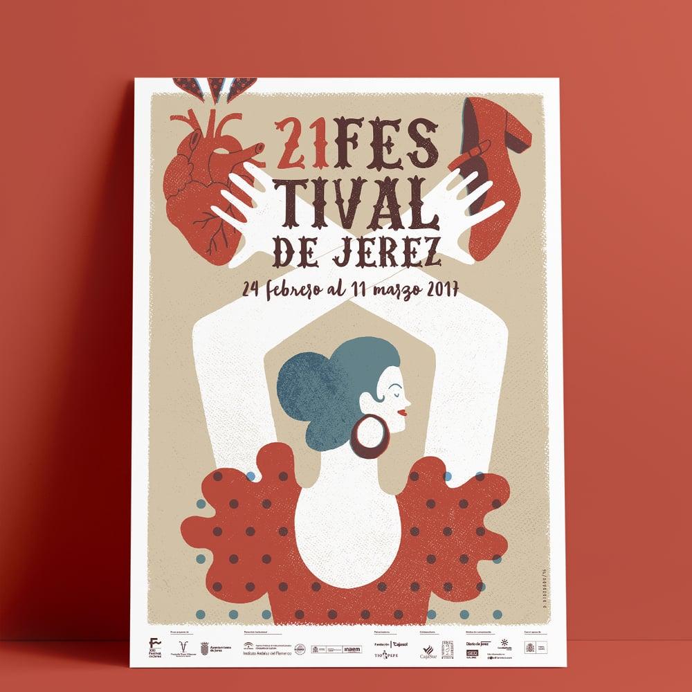 Image of 21 Festival de Jerez / Cartel Oficial
