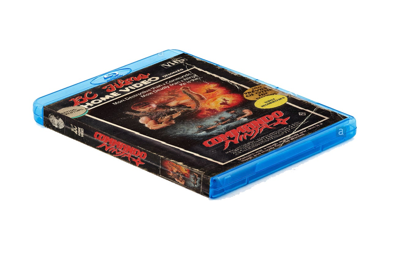 Image of Blu-Ray + optional 7 Collector Cards & Stickers