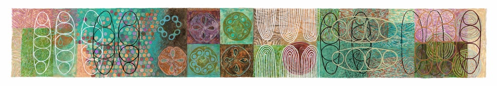 Image of 'SEED RHYTHMS' a series of paintings - available individually or as a set.