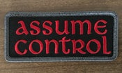 Image of Assume Control patch